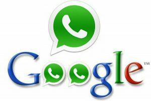 acuerdo google whatsapp